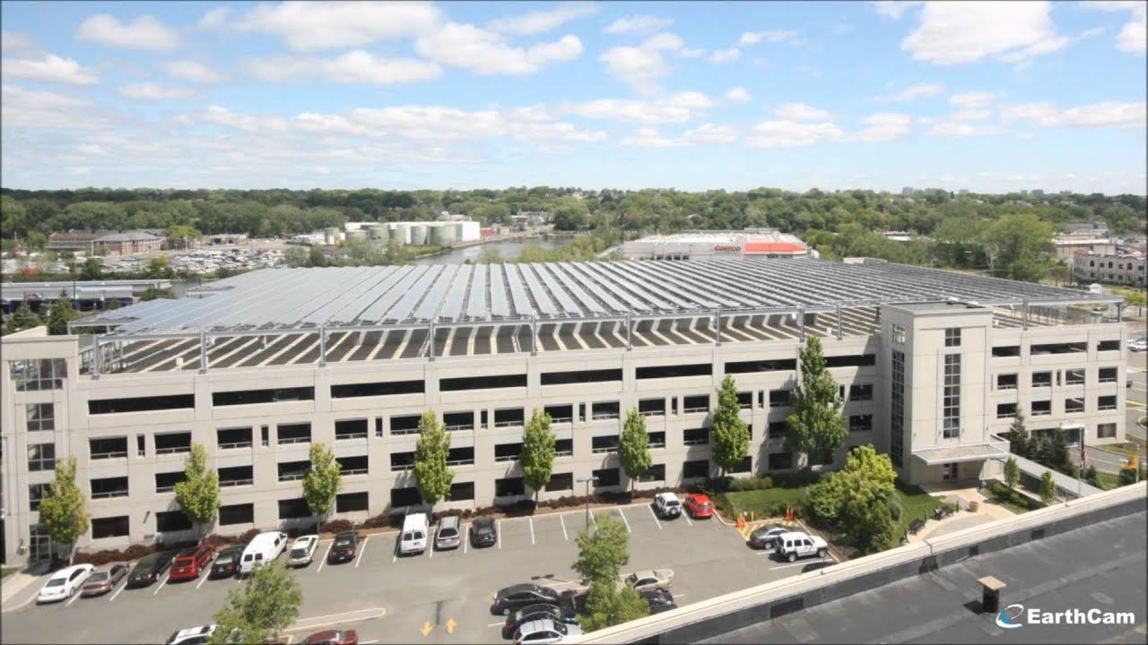 Solar Panel Installation Bergen County Plaza Parking Deck