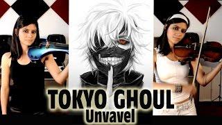 Video TOKYO GHOUL ❤ en VIOLIN ELECTRICO!! (UNRAVEL Full Opening) download MP3, 3GP, MP4, WEBM, AVI, FLV Mei 2018