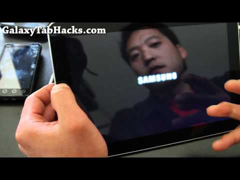 How to Overclock Galaxy Tab 10.1 to 1.4Ghz Dual-core!