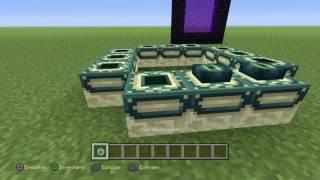 Minecraft Ps4: Tutorial crear un Golem, portal nether, portal final y Wither