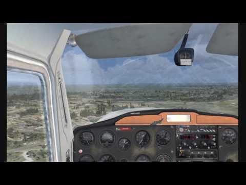FSX Cessna 150 flight around Kissimmee (KISM)