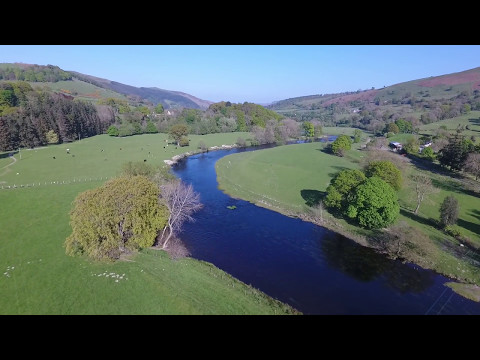 Corwen to Carrog by Drone