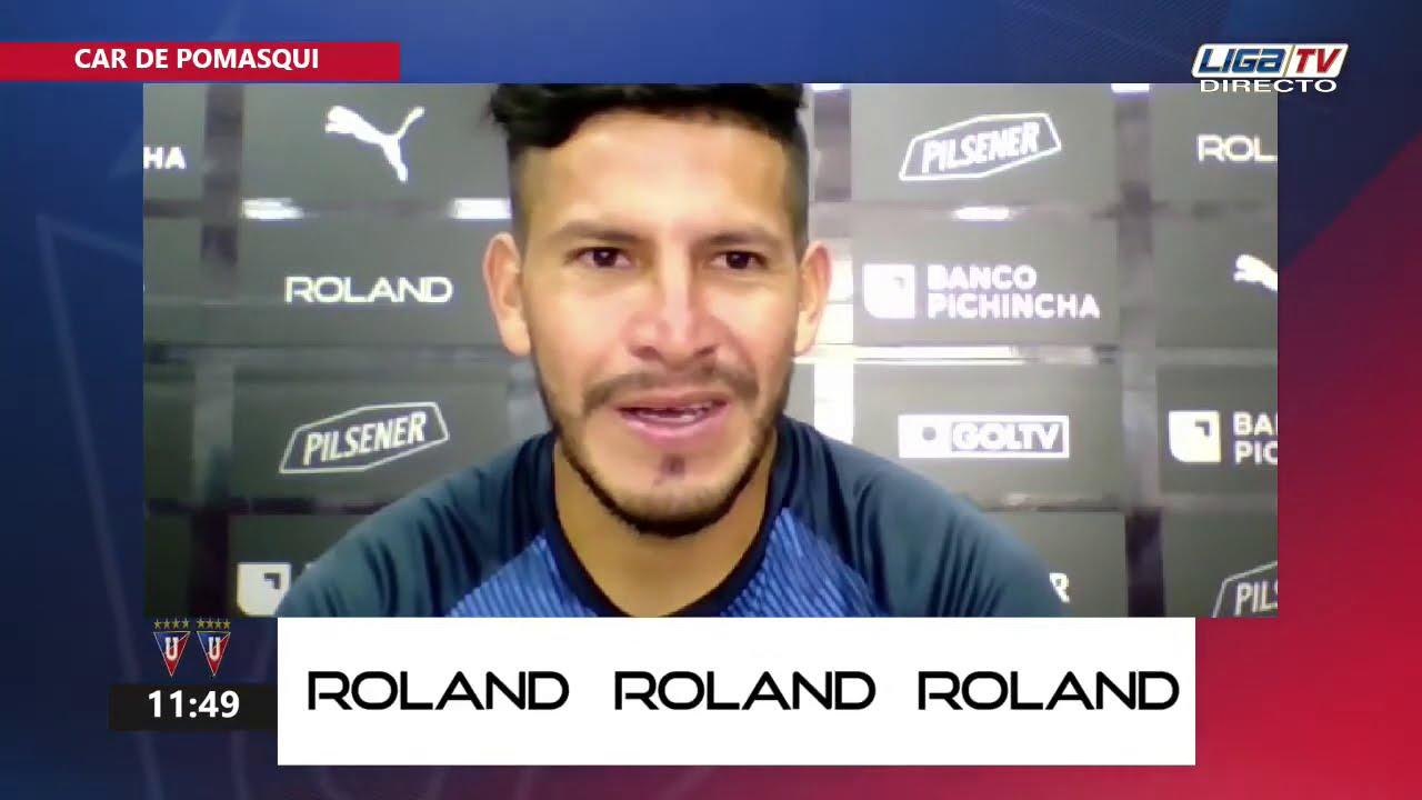 Christian Cruz | Rueda de Prensa (virtual) | LDU
