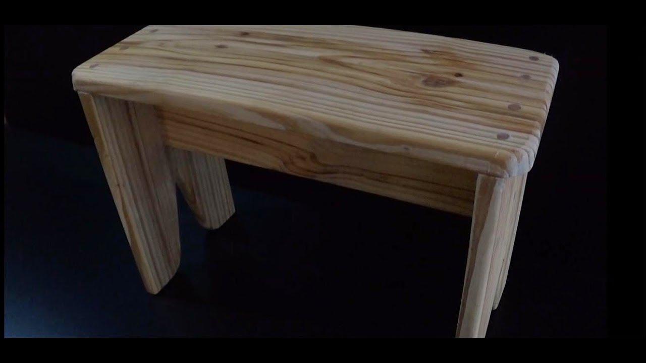 Como hacer un banco de madera entarugado juan carlos - Como hacer bancos de madera ...