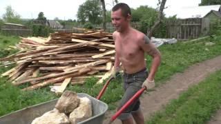 Строим Фундамент для печи(Фундамент для банной печи каменка., 2016-06-25T21:48:40.000Z)