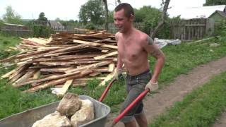 видео Фундамент для печи в доме