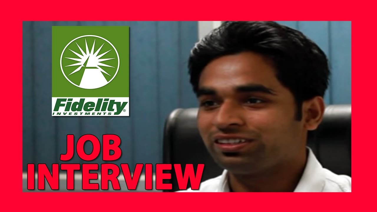 Job Interview Questions And Answers  Fildelity Investment Interview