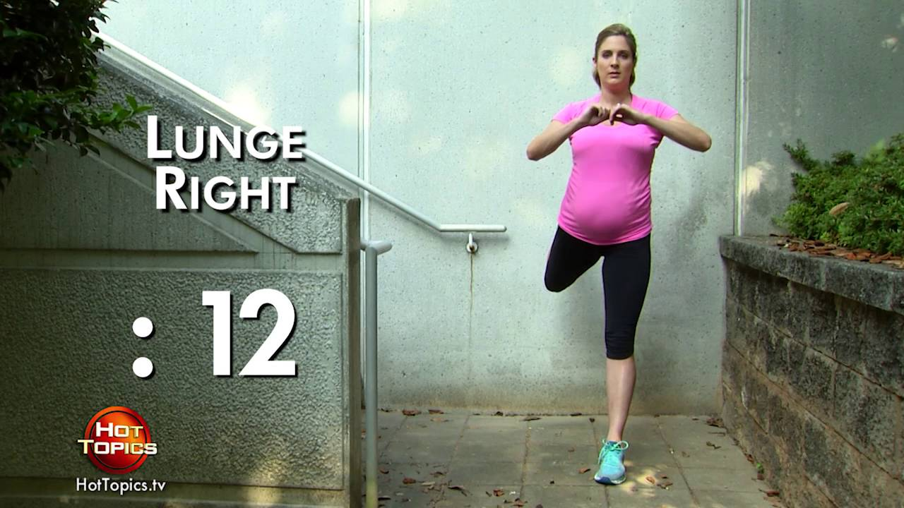 ccd745b24 5 Min Maternity Workout - Full body - YouTube