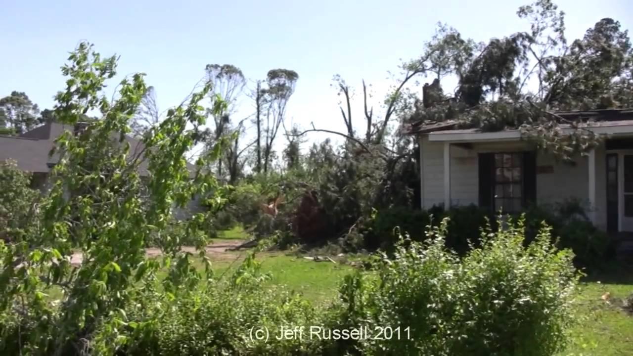 Spalding County GA Tornado Damage