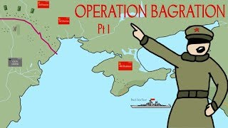 "The Most Decisive Operation in WW2 ""Operation Bagration"" Pt. 1"