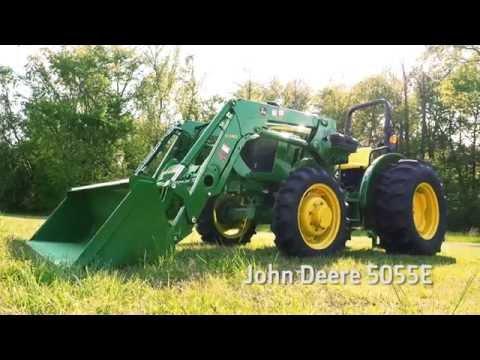 John Deere 5055E 59-hp Utility Tractor