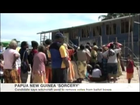 Election Results Delayed By Accusations Of Sorcery In Papua New Guinea