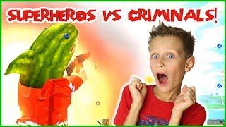 Superheros vs Criminals!