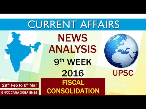 Current Affairs News Analysis 9th Week (29th Feb to 6th Mar) of 2016