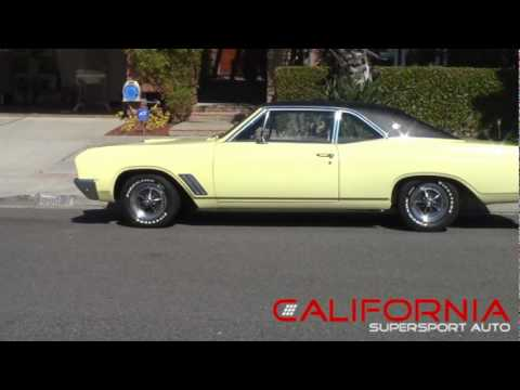 Ultra Rare 1967 Buick California Gs Sold Youtube