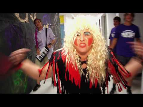 "Chesapeake High School Lip Dub ""School of Rock"" Parody"