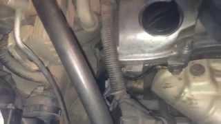 Определение одного из стуков двигателя. Цепь ГРМ.