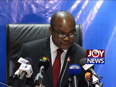 Governor of Bank of Ghana, Ernest Addison on Sovereign Bank. (1-08-18)