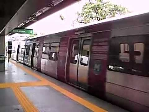 Metrô Rio - Triagem x Maracanã.AVI