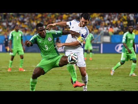 NIGERIA 1 VS BOSNIA HERZEGOVINA 0 2014 FIFA WORLD CUP MATCH UPDATES