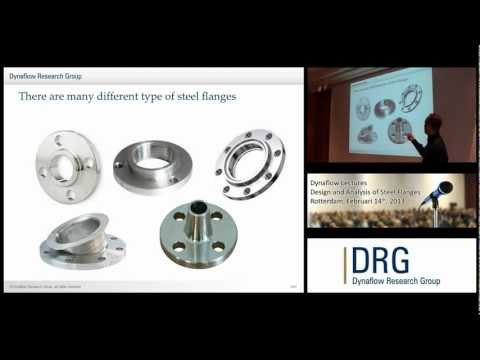 Dynaflow Lectures - February 14th 2013 - Steel Flanges