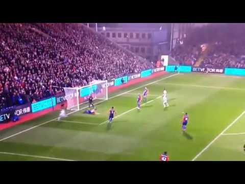 Gol de Manuel Lanzini - West Ham 1 - 0 Crystal Palace - 8° fecha Premier League