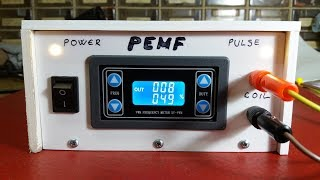 DIY PEMF (pulsed electromagnetic field) therapy device with signal generator module