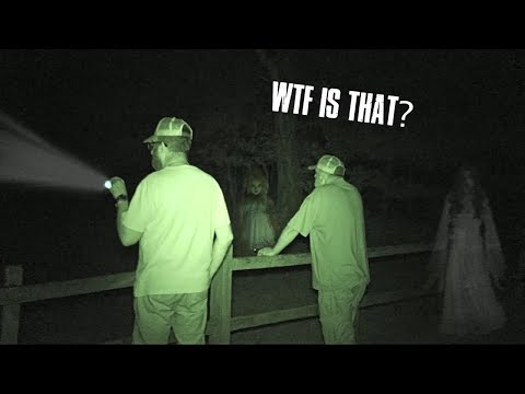 WTF IS INSIDE SHERWOOD FOREST AT NIGHT!