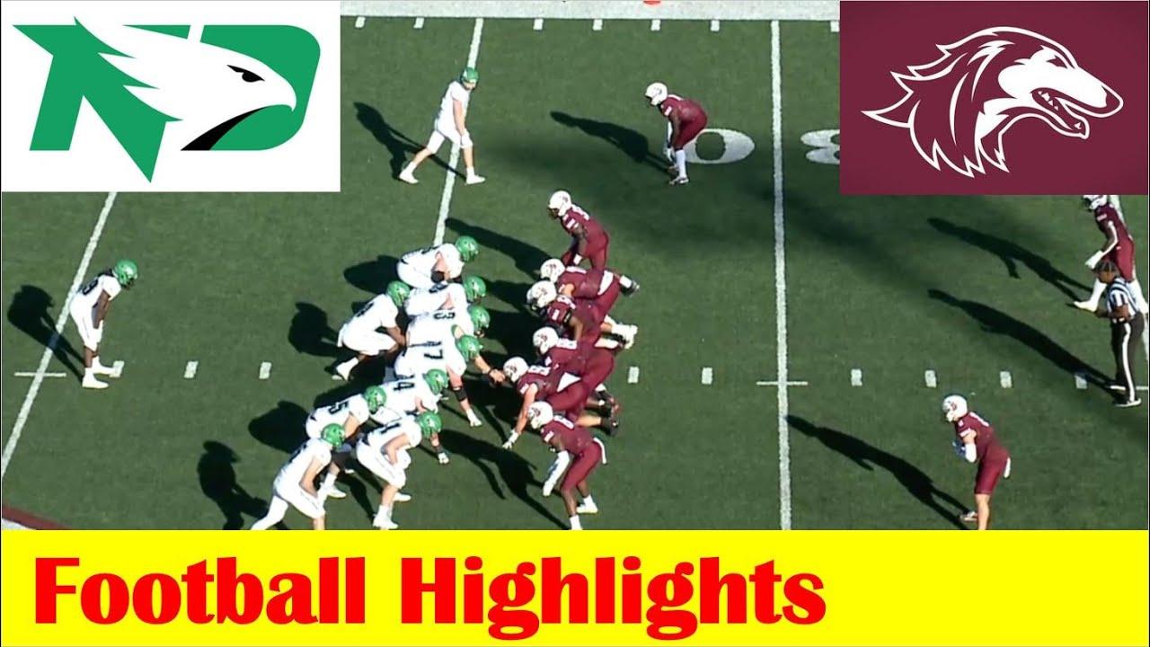 Download North Dakota vs Southern Illinois Football Game Highlights 10 16 2021