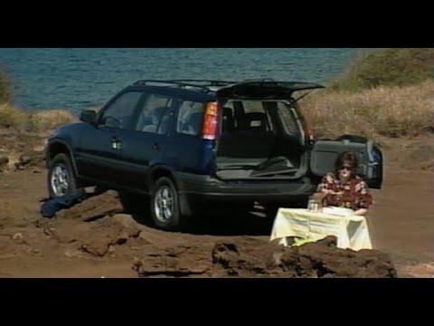 Motorweek Retro Review 1997 Honda Cr V Youtube