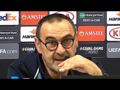 Maurizio Sarri Full Pre-Match Press Conference - MOL Vidi v Chelsea - Europa League