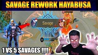 SAVAGE REWORK HAYABUSA GOODGAME !!! - Mobile Legend Bang Bang