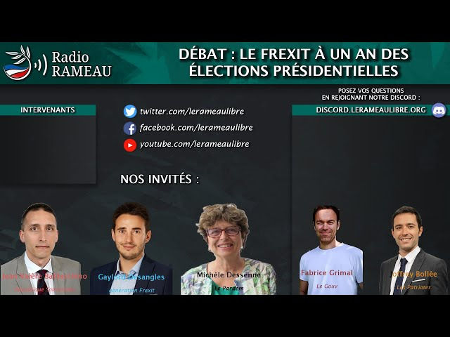 Radio Rameau #9 - Débat entre G.Desangles, M. Dessenne, F. Grimal, J. Bollée et JV Baldacchino !