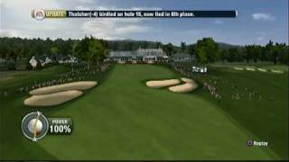 Tiger Woods PGA Tour 10 (PS3) - Career - EA Sports Major Championship Round 1 Highlights
