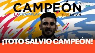 En la final ante Diego Schwartzman, Eduardo Salvio se consagró campeón de la Champlay Solidaria, el torneo de FIFA20 impulsado por Peque y Paulo Dybala ...