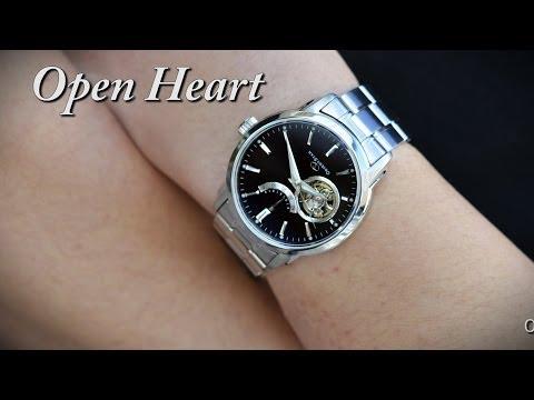Orient Watch SDA02002B0 Open Heart Automatic Mechanical Men's Watch