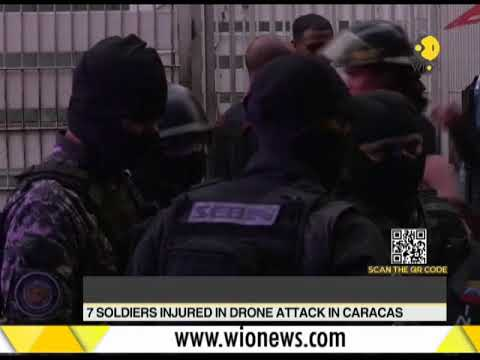 Venezuela president Nicolas Maduro survives attack from 'drone like devices'