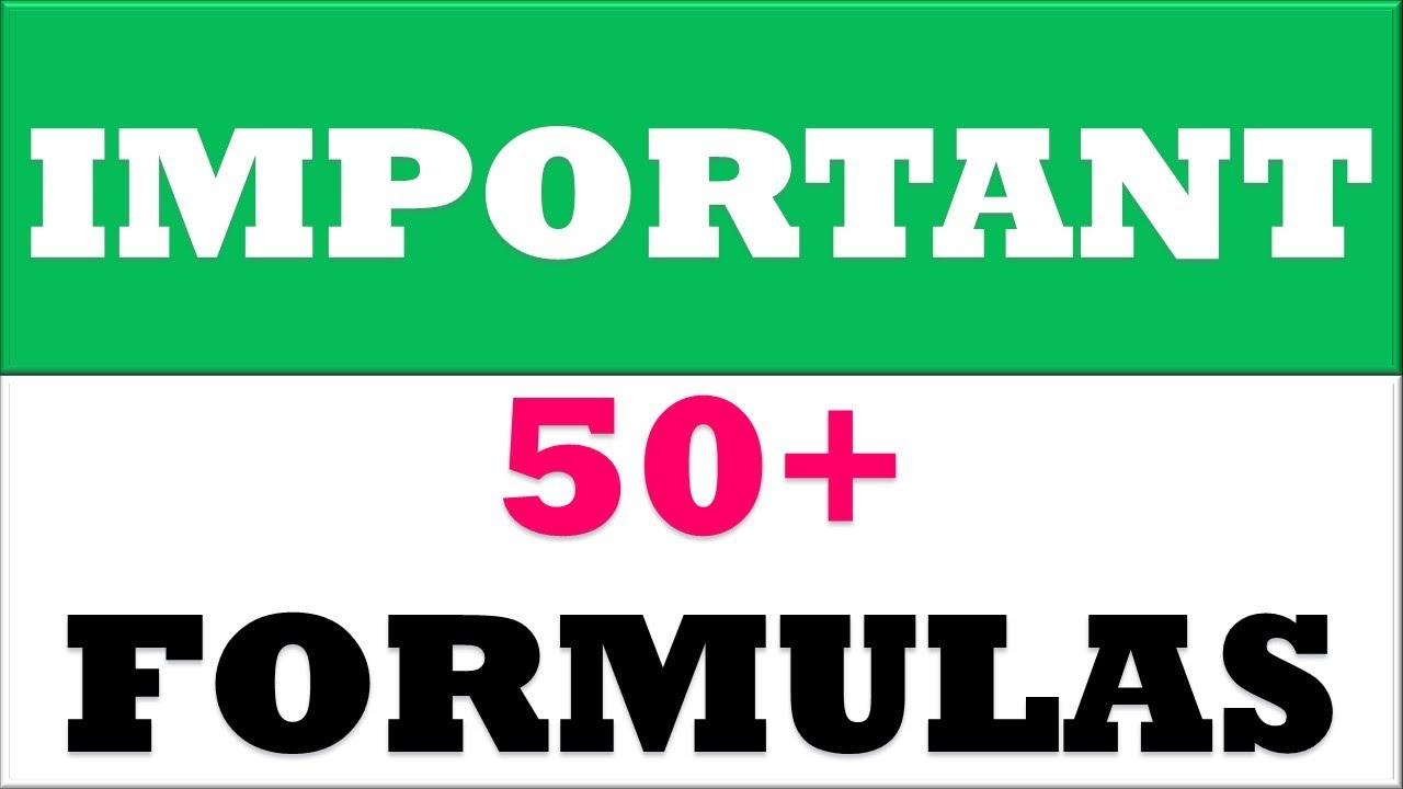 20+ excel IMPORTANT FORMULAS   excel formulas and functions