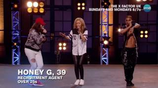 Honey G Takes Over Boot Camp - The X Factor UK PREVIEW on AXS TV
