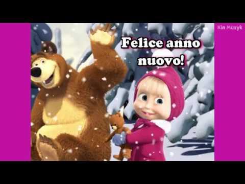 Новогодние песни для детей ● Маленькая ёлочка, в лесу родилась ёлочка (с картинками, Маша и медведь)