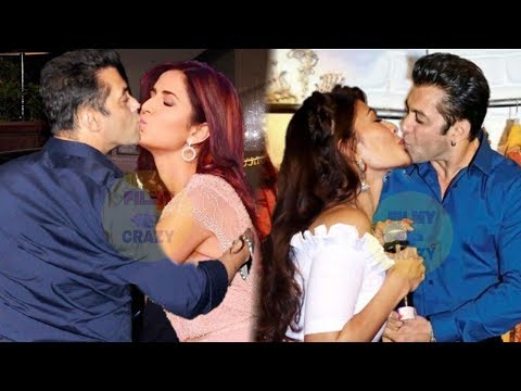 Salman Khan Most Viral KlSSES Moments with Katrina Kaif, Jacqueline Fernandez and Others | Awards RC