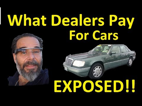 WHAT DEALERS (i) PAY FOR CARS ~  I MAKE MONEY FOR YOU ~ WHOLESALE