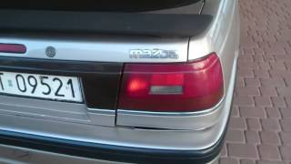 Mazda 626 GD USDM F2T automatyczne pasy