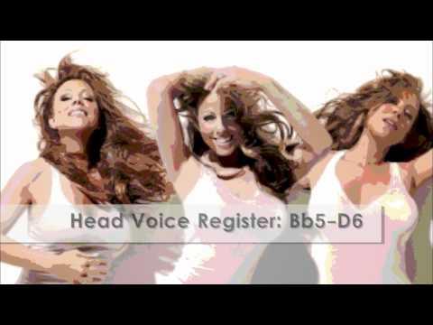 HD Mariah Carey Vocal Range  'Memoirs of an Imperfect Angel': G2D7 12th Studio Album, 2009