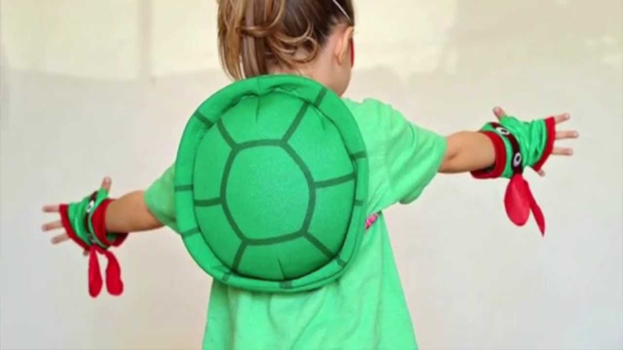 Easy diy tmnt costume for girls youtube solutioingenieria Choice Image