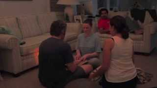 Ouija Board Prank - Hilarious! Woman Faints after Clown Scare