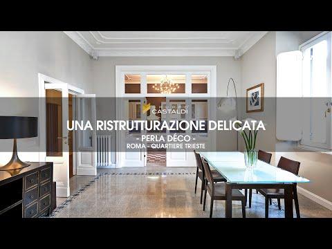Ristrutturazione Appartamento di pregio a Roma - Home Tour 2019 - Una casa in stile classico moderno