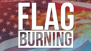Flag Burning: Is it legal & should it be illegal? (CoD AW Gameplay Commentary)