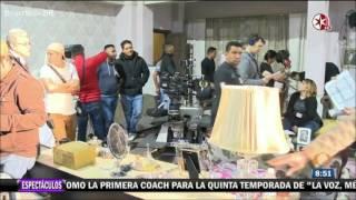 Angelique Boyer, Sebastian Rulli Y Elenco De Tres Veces Ana Graban Los Promocionales