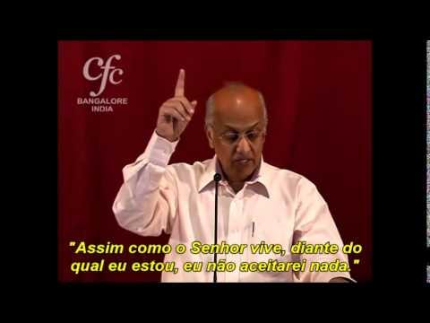 Zac Poonen legendado português: Dinheiro, Música e Psicologia